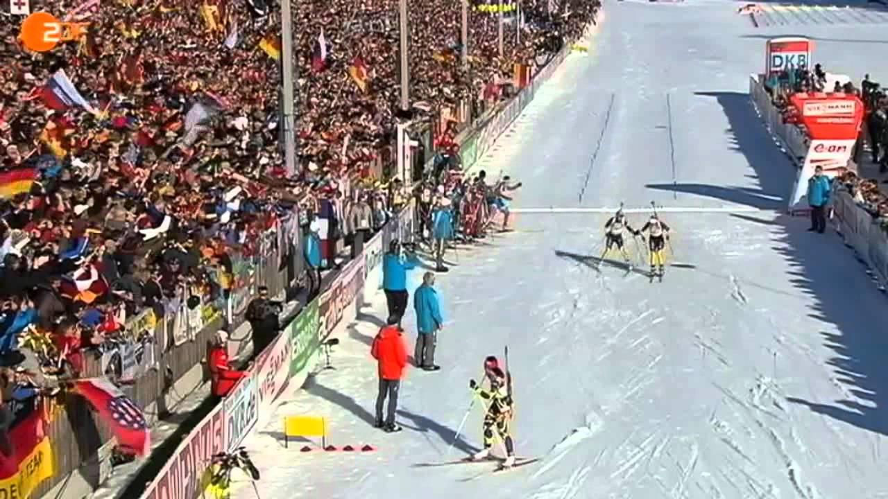 Biathlon Damen 2012