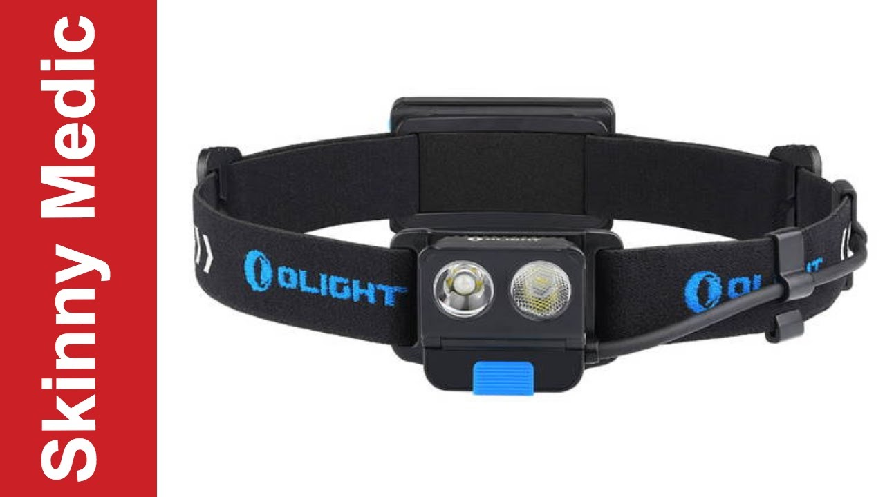 500LM 5 Years Warranty!! The Best Rechargeable headlamps Olight H16 Wave