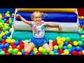 Best Indoor playgrounds for children compilation with Mili and Stacy