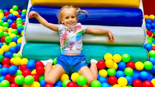 Best Indoor playgrounds for children compilation with Milena and Stesha
