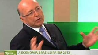 Crise mundial pode afetar o crescimento da economia brasileira em 2012