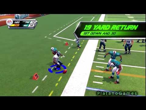 NFL Blitz - Blitz Gauntlet: Week 1 - Philadelphia Eagles vs Miami Dolphins - HD