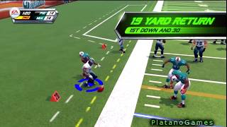 NFL Blitz - Blitz Gauntlet: Week 1 - Philadelphia Eagles vs Miami Dolphins - HD