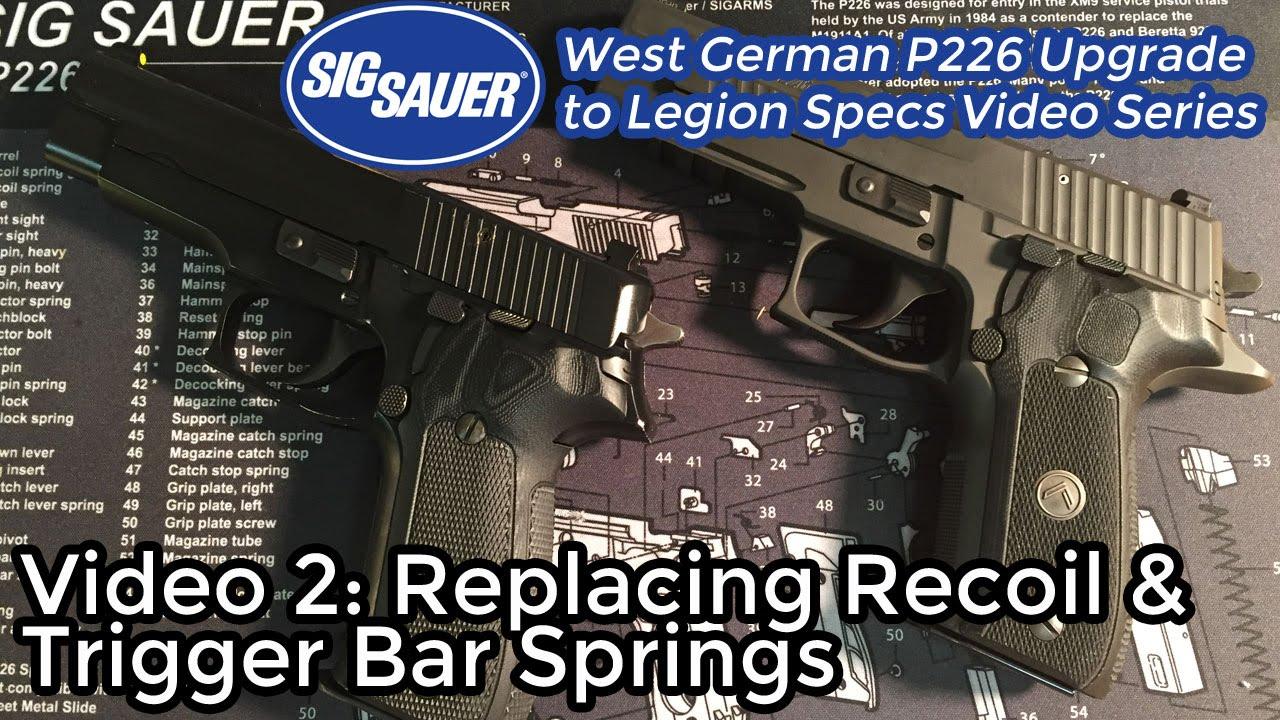 Upgrade a West German SIG Sauer P226 to Legion Specs - Page