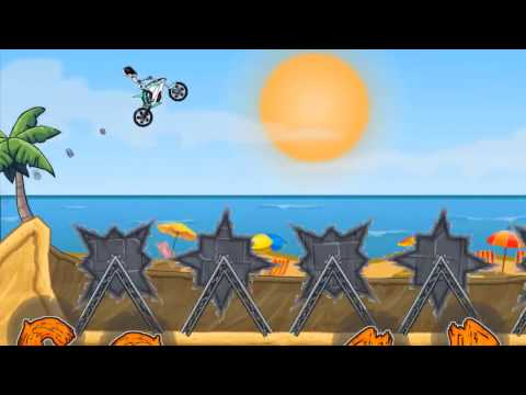 MOTO X3M Bike Racing Gameplay Video Android / iOS | Tron Levels