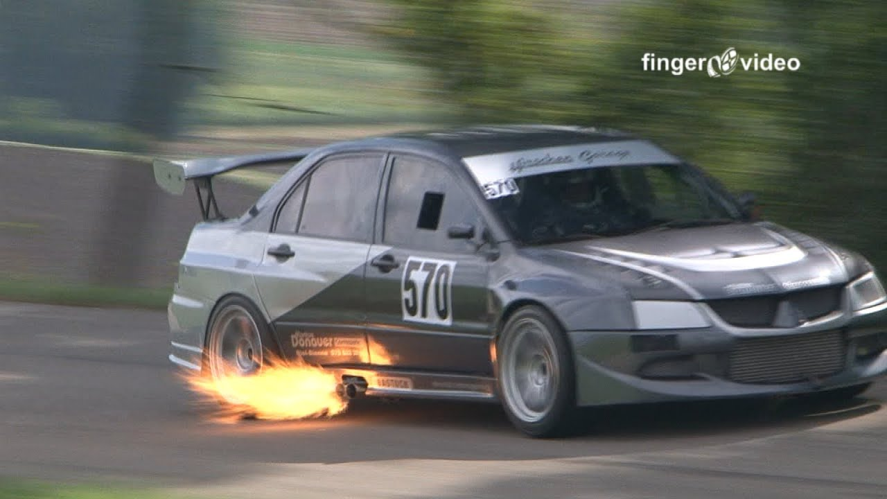 enormous fire-breather mitsubishi lancer evo - 600 bhp onboard special  hillclimb switzerland fv20 - youtube  youtube