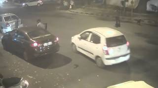Delhi Mercedes Hit & Run Case:  32-year-old Siddharth Sharma's Accident Full CCTV Footage