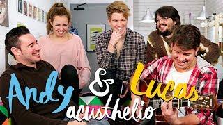 Andy y Lucas juegan a 'el psico-challenge' con Brays Efe, Alex Puértolas y a Rebeca Terán - Roomies