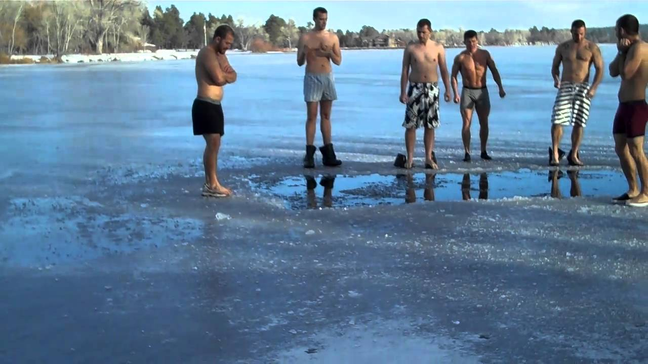 Show Low Frozen Lake Jump - Youtube-7658