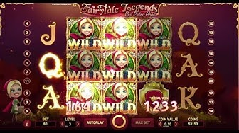 Fairytale Legends: Red Riding Hood Online Slot from NetEnt with Bonus Features and Free Spins