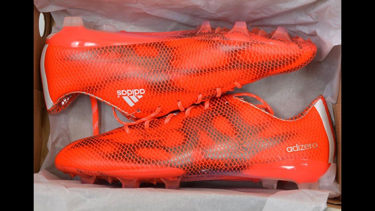 adidas f50 adizero solar red