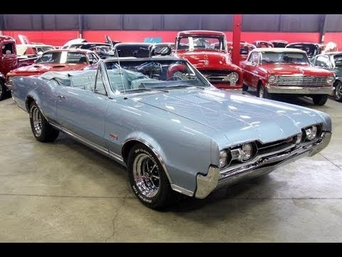 1967 Oldsmobile Cutlass 442 Convertible For Sale