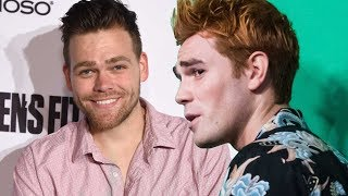 ET investigates why KJ Apa and co. are fighting with controversial YouTuber Elijah Daniel.