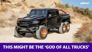 This extreme truck might be the 'god of all trucks'