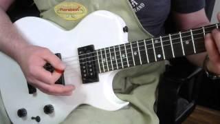 White SX Les Paul