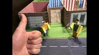 Roblox. Hello Neighbor. Cardboard game. DIY