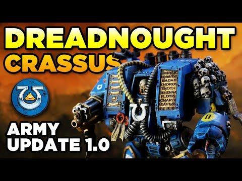 dreadnought-crassus---lt's-army-update-1.0-|-warhammer-40k-minis