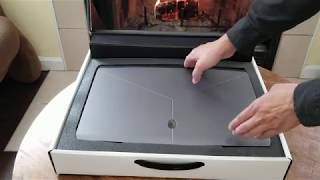 Alienware m17 Unboxing: 2019 Alienware 17 inch with RTX 2070