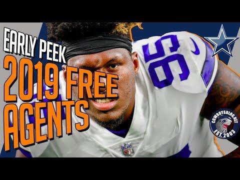 Early Peek at Dallas Cowboys 2019 Free Agents