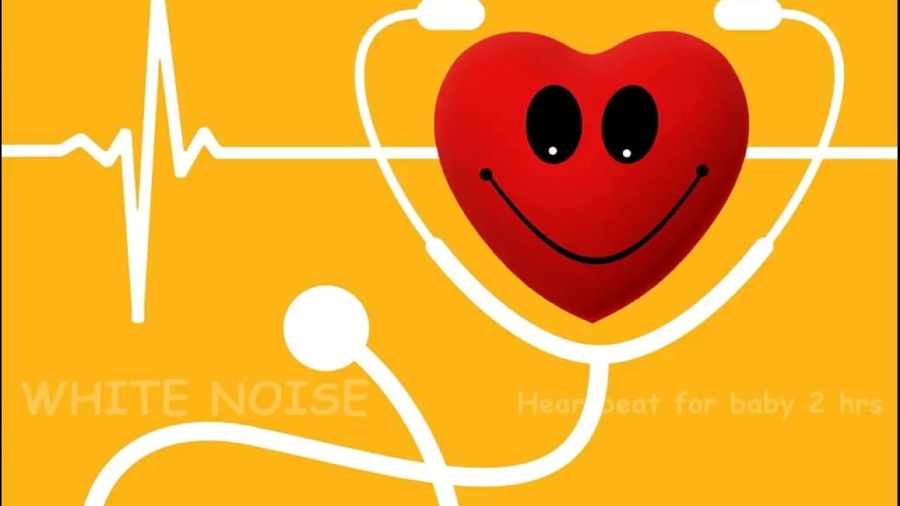 White Noise Heartbeat for Baby 2 Hrs ♫ เสียงหัวใจเต้น 2 ...
