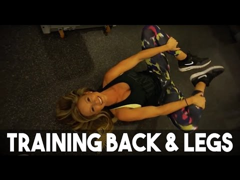 TRAINING BACK AND LEGS