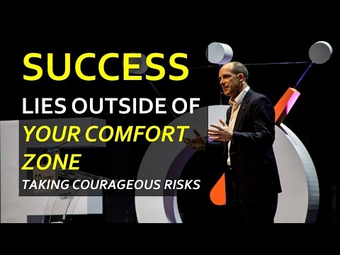 Your Success lives outside your Comfort Zone | Wise words from Kafka, Mueck, Anagor and Mills