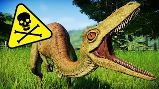 Troodon's Venomous Bite - How Does It Work? (Jurassic World: Evolution Troodon)