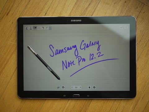 The ultimate iPad Pro alternative, Galaxy Note Pro 12.2, the real Pro Tablet.