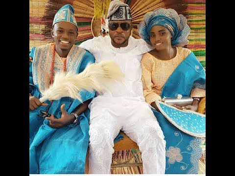 LMAO! See Odunlade Adekola Collecting Money From The Guests At His Younger Brother's White Wedding