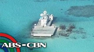 Chinese structure on Panganiban Reef a threat