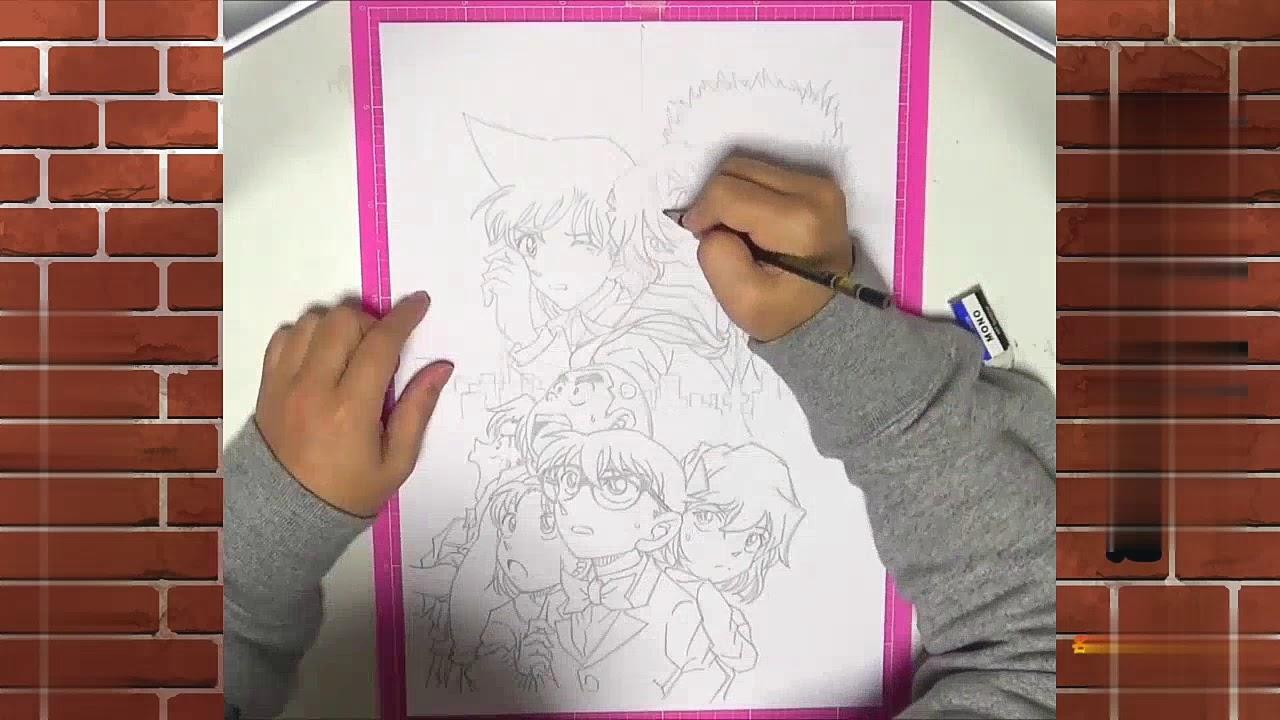 Seri conan/ Vẽ conan_Draw Conan