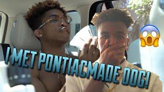 I MET PONTIACMADE DDG!!!