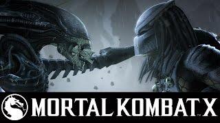 Чужой против Хищника - Mortal Kombat X