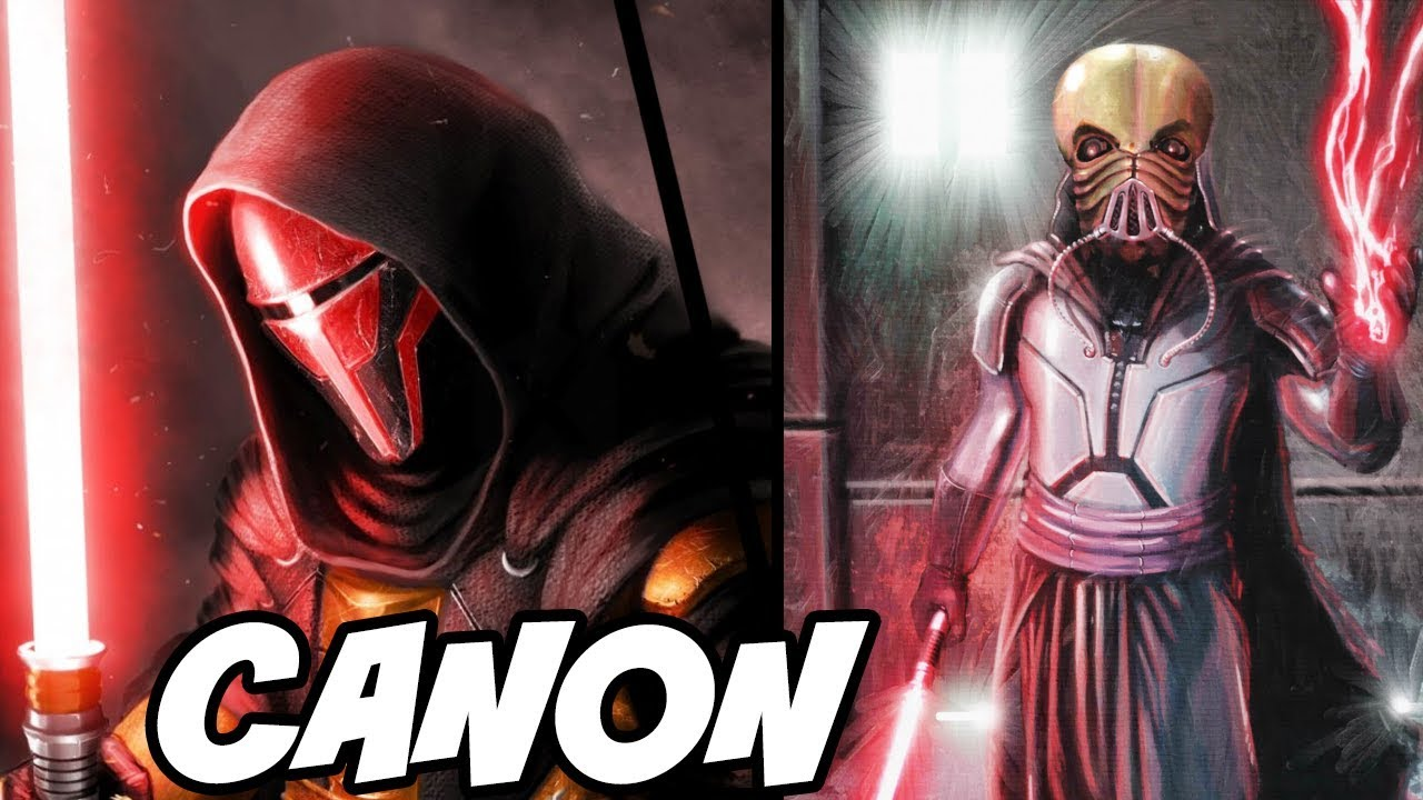 Disney Just Made Revan And Plagueis Master Canon