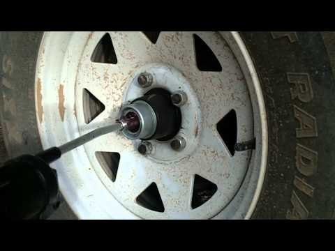 How to Grease Trailer Wheel Bearings with EZ Lube Grease Cert