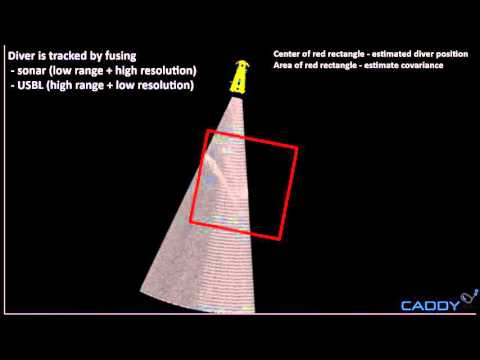 Multibeam sonar and USBL fusion for tracking