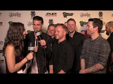 Interview with Blessthefall (Round Three - 2017 APMAs Red Carpet)