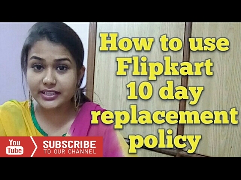 How to use 10day replacement policy of flipkart and amazon to exchange your phone