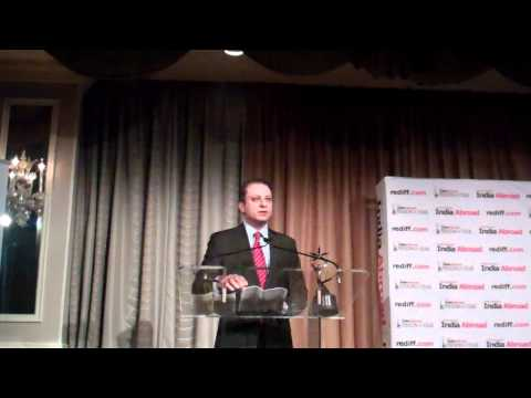 US Attorney for NY S. District Preet Bharara Receiving India Abroad Person of the Year Awarde.2.MP4