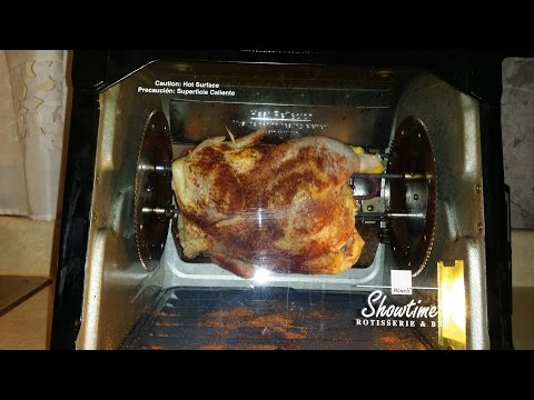 Ronco Showtime Rotisserie Chicken BBQ Set It And Forget It!