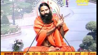 Swami Ramdev Tips to Cure Catract, Gluacoma, Night Blindness, Colour Blindness