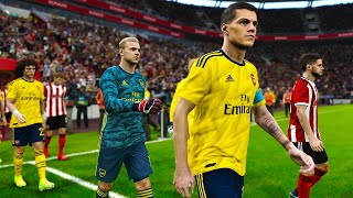 Sheffield United vs Arsenal 21 October 2019 PES 2020 Gameplay Predictions