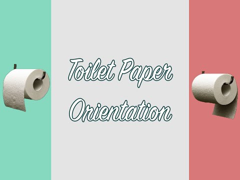 TWL #4: Which Way Should Toilet Paper Face?