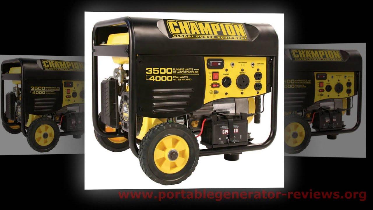 Top 5 Best Portable Generators