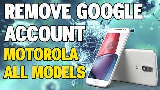 Eliminar cuenta Google Moto G1, G2, G3, G4, G4 Plus, X, X Play, E, E2. Todos los modelos Motorola.