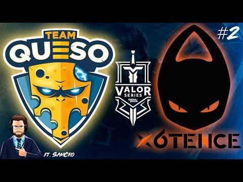 Team Queso VS x6tence - Mapa 2 - Valor Series #7 Español | Navalha ft. SamCro - Arena of Valor