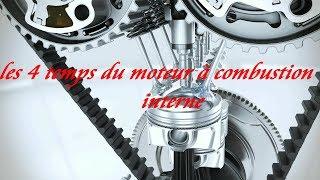 les 4 temps du moteur à combustion interne