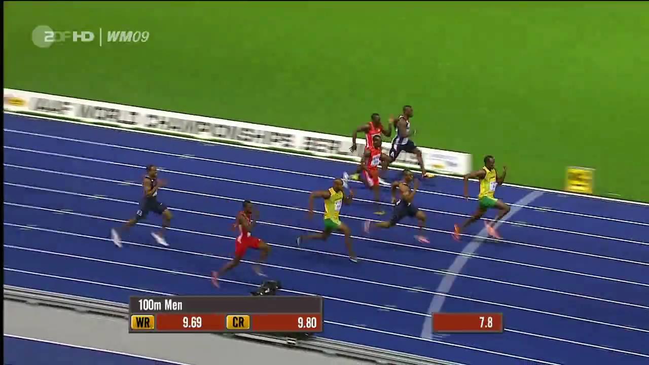 Leichtathletik 100m Wm Finale 2009 Youtube
