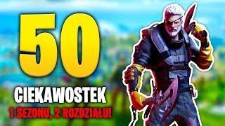 50 CIEKAWOSTEK NOWEGO ROZDZIALU w Fortnite!