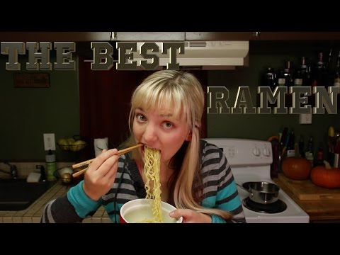 THE BEST RAMEN & IT'S VEGAN!!!